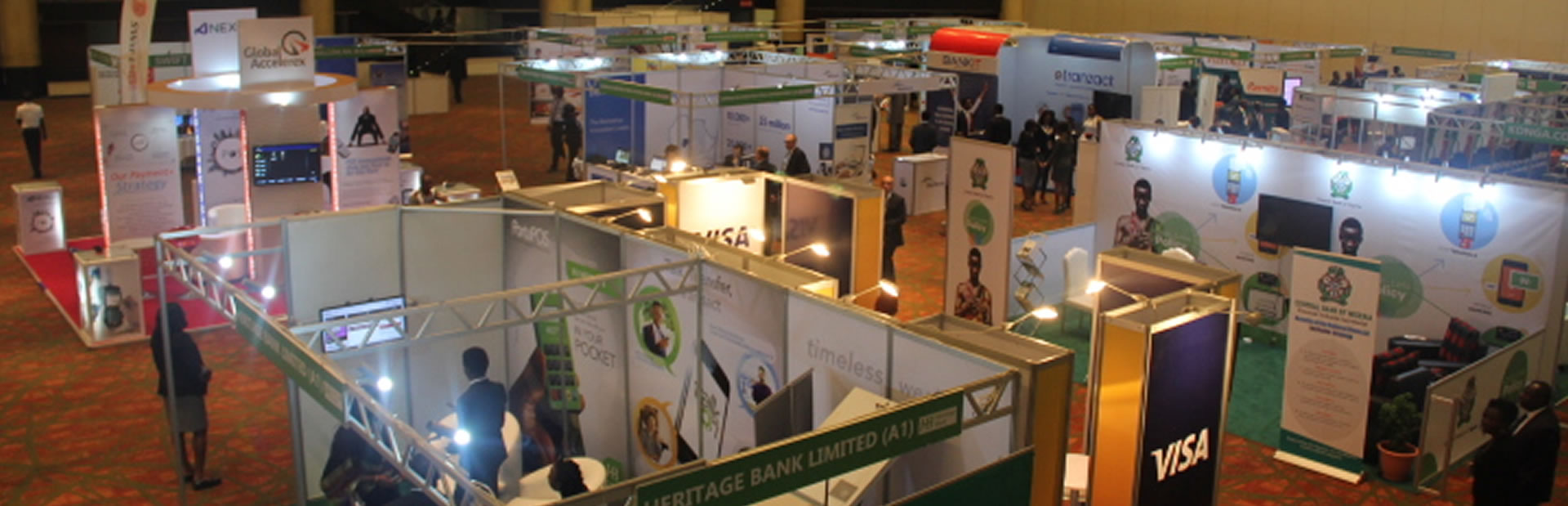 Fintech Exhibition Booths